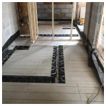 Our Work - Underfloor Heating